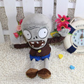 28cm Cute Plants Vs Zombies Series toy The gray zombies Plush Doll decorations soft stuffed toys for children free shipping