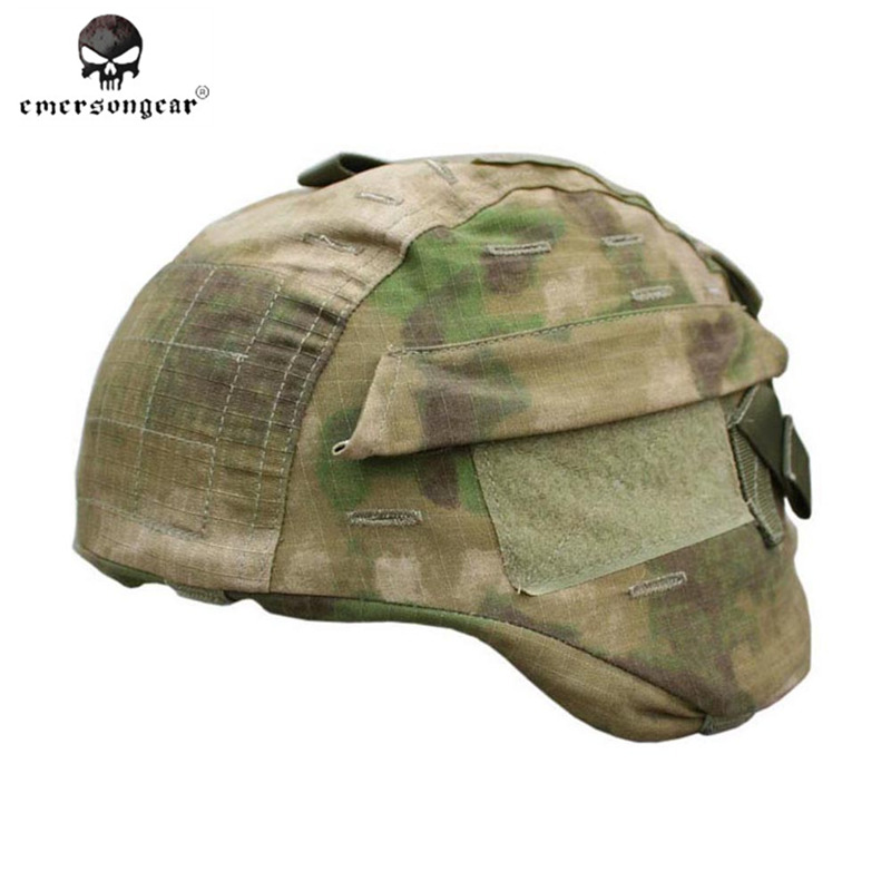 Emerson Helmet Cover for MICH 2000 Ver2 Combat Helmet Cloth Military Wargame Airsoft Paintball Combat Gear MICH Helmet Cover mich 2000 military tactical airsoft paintball helmet wargame dear movie prop cosplay