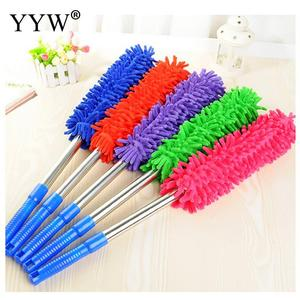 Image 3 - 1pc Dust Clean Holder Flexible Duster Brush Static Anti Dusting Cleaner Brush Home Air Condition Car Furniture Cleaning Tools