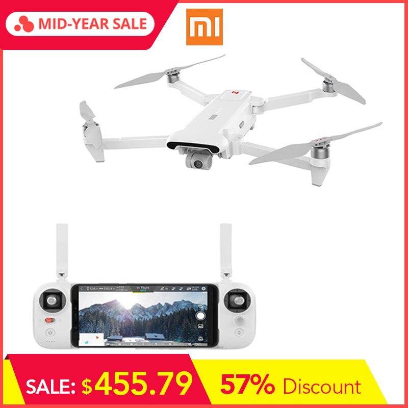 Xiaomi FIMI X8 SE 5 KM FPV con cardán de 3 ejes 4 K Cámara GPS 33 minutos tiempo de vuelo RC Quadcopter Dron plegable RTF profesional