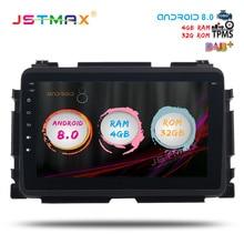 JSTMAX 8 Android 8 0 Car font b GPS b font Radio Player for Honda Vezel