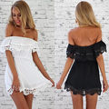 women Summer Sundress Cocktail BOHO Clubwear PATY Beach lace Beach NEW Dress