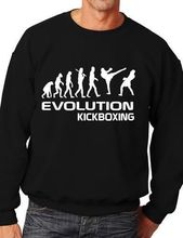 Evolution Of Kickboxing Sport Funny Sweatshirt Jumper Unisex Birthday Gift More Size and Color-E220