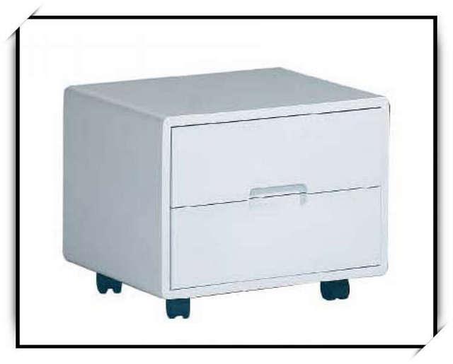 Mesita breve moda blanca del todo fósforo de almacenamiento plaza gabinete ctg32