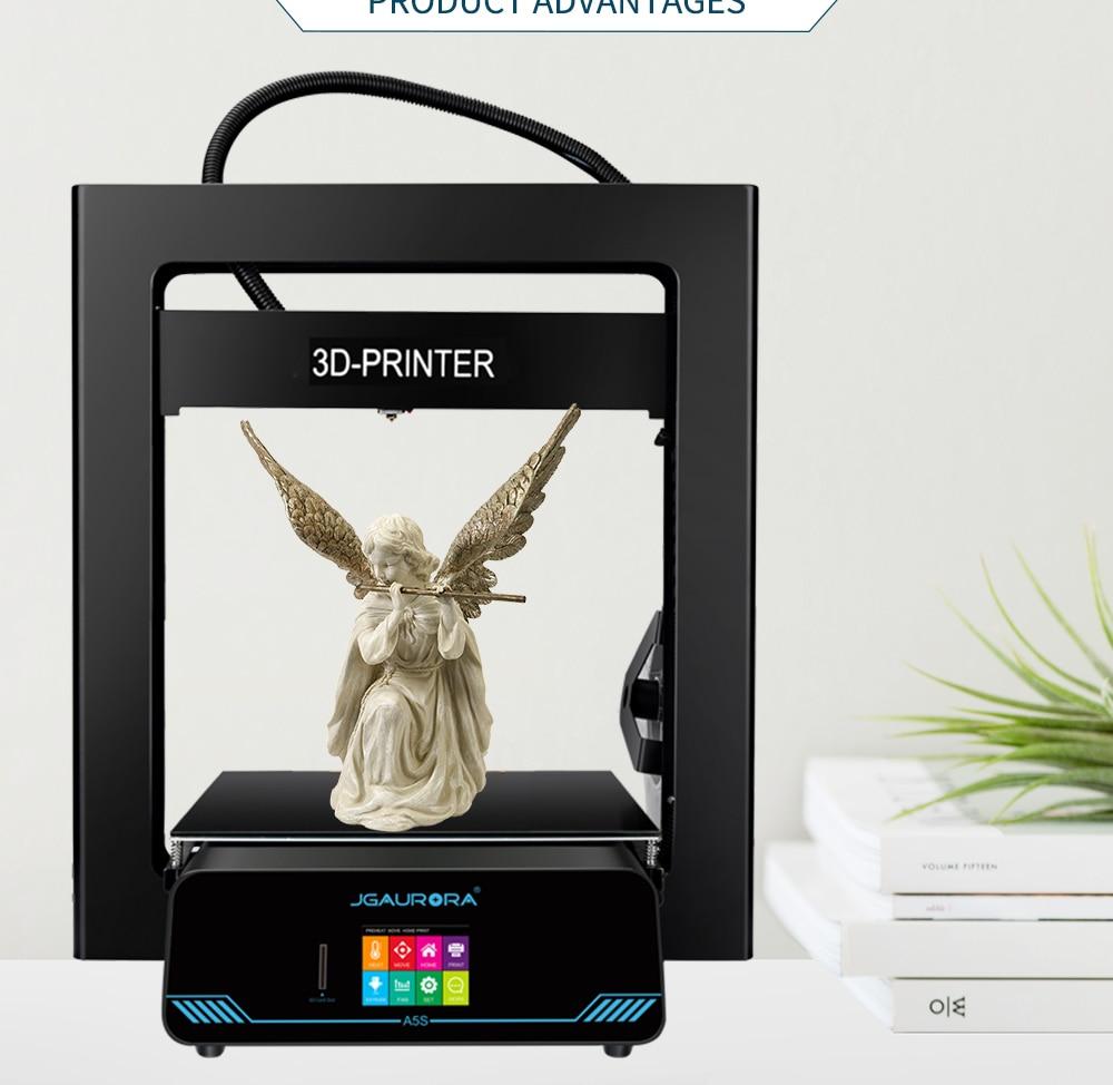 Jgaurora A5s 3d Drucker Top Qualität Desktop Printing Maschine Mit Touchscreen Große Bauen Größe 305*305*320mm 3-d-drucker Computer & Büro