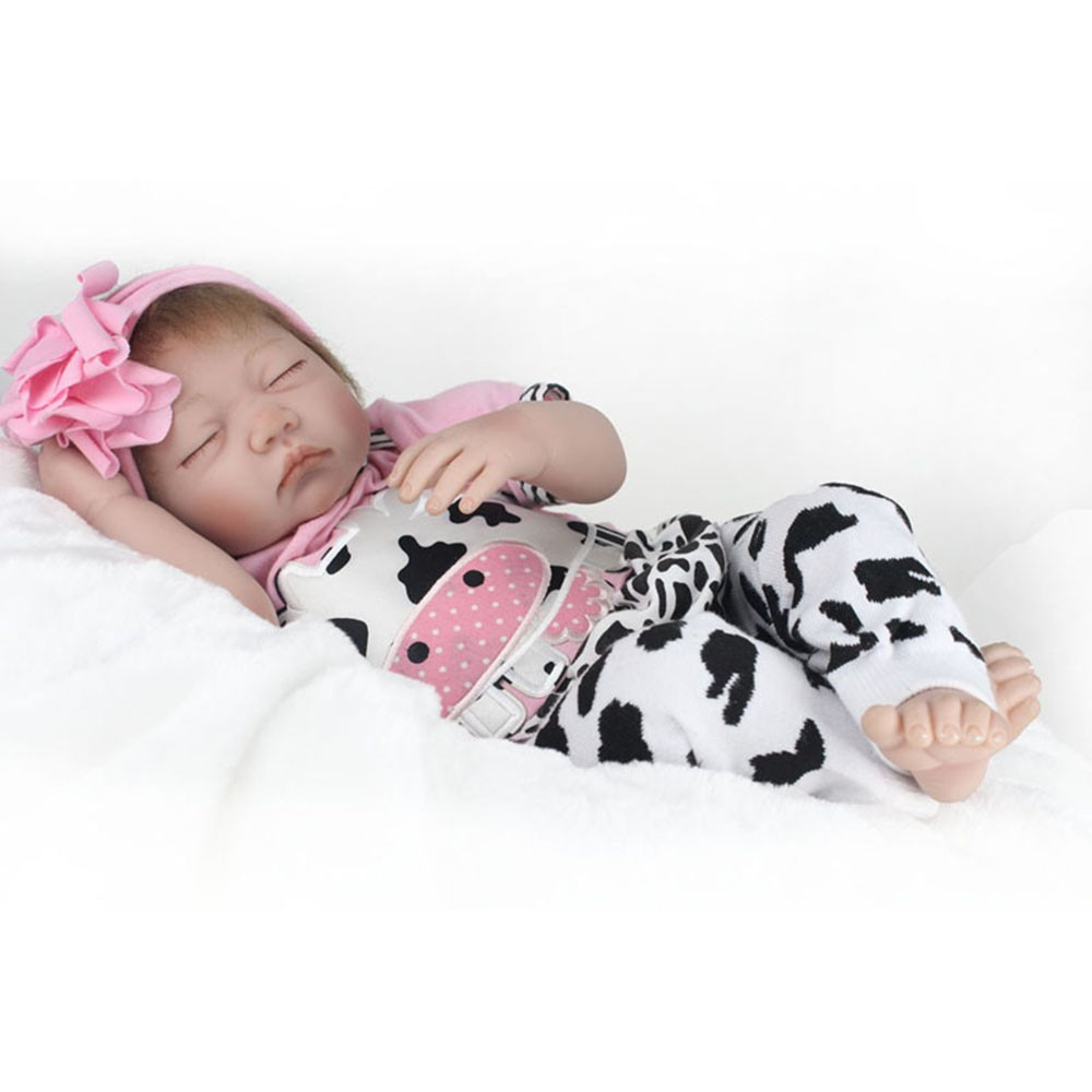 Reborn Doll The rebirth of baby doll eyes stay adorable baby doll toy silicone кукла 44271926101 usa berenguer reborn baby doll