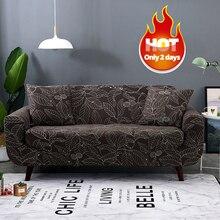 Spandex Hussen Sofa Decken Elastischen Engen Wickelkleid All-inclusive Ich förmigen Sofa Abdeckung Stretch Möbel Umfasst 1/2/3/4 sitzer 1 STÜCK