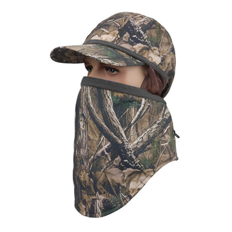 Ar Livre do Velo Com Capuz Máscara