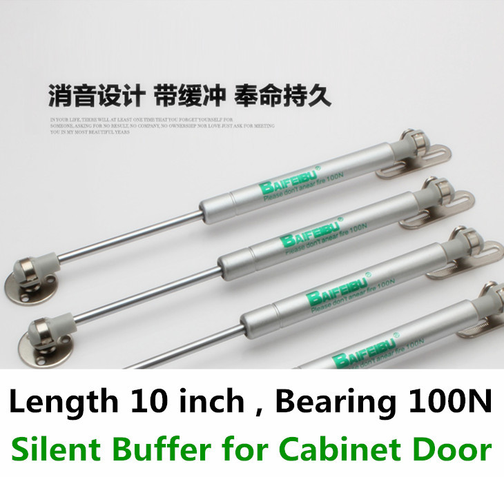 1 Pair Pneumatic door support BAIFEIBU Bearing 100N Hydraulic Lift Up Gas Spring Kitchen Cabinet Hardware