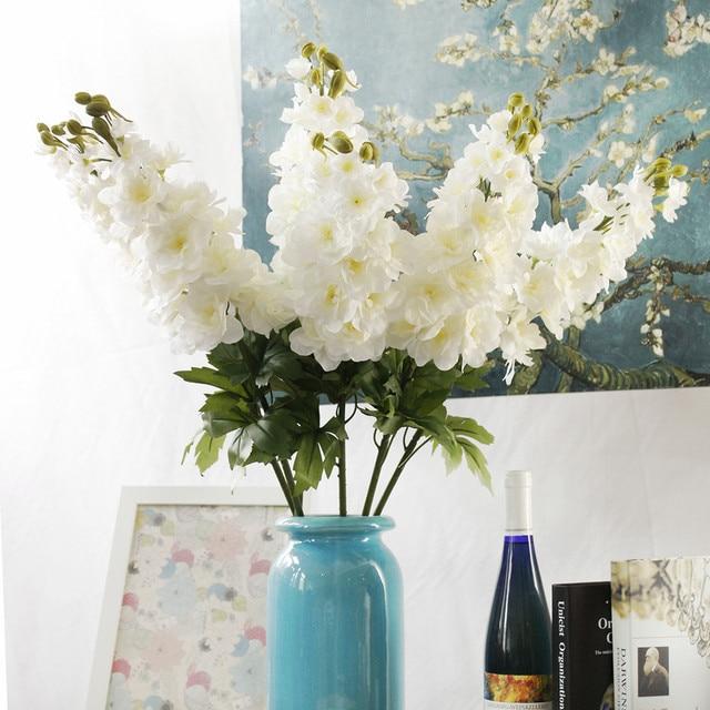 80cm Simulation Flower New Delphinium Artificial Flowers Continental