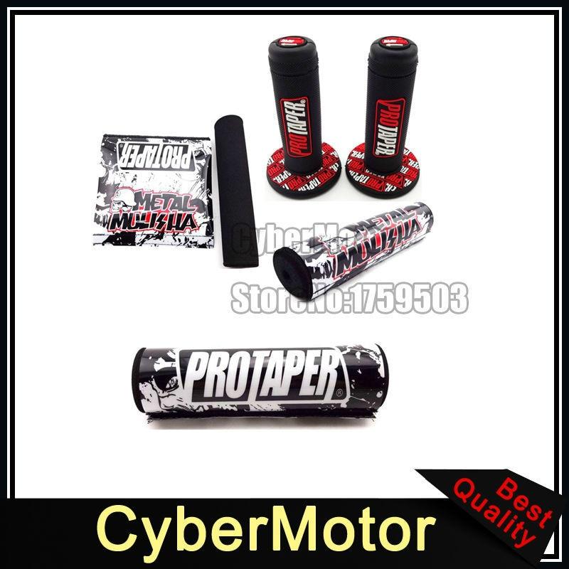Grips Throttle Handle Grips Handlebar Bar Pad Cushion For Protaper Dirt Pit Motor Bike Motorcycle Xr Crf Klx Ttr Ssr Ycf Sdg Dhz Lifan