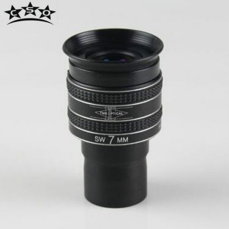 CSO New 1.25 58 Degree 7MM TMB Planetary II Eyepiece High Power Wide Angle Field of View Caps Astronomical Telescope Monocular ...