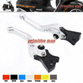 For Vespa 300/250/200 Granturismo /GTS300/GTS250 Billet Aluminum Adjustable Short Left Right Brake Levers Silver