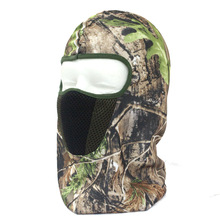 Neck Hoods Full Face Mask Camouflage mask Scarf  Hunting Hat Winter Hunting Bionic Protective Headgear Outdoor Masked Cap