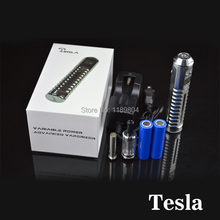2 kits tesla kits hot selling  vaporizer  e cigs mechanical mod kit with 18650 battery vs Vamo V5 V6 V7 v8 V9 rda  tesla