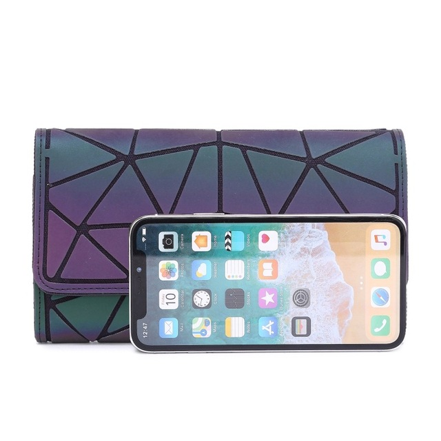 DIOMO 2019 Money Clip Female Trifold Wallet Slim Thin Women Purses Long Clutch Wallets Money Bag 1