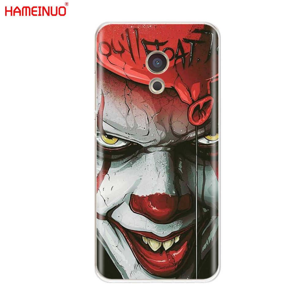 HAMEINUO klaun Horror obejmuje etui na telefon do Meizu M6 M5 M5S M2 M3 M3S MX4 MX5 MX6 PRO 6 5 U10 U20 note plus