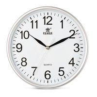 POWER Brand 10 inch/12inch Wall Clocks Silent Quartz Movement Wall Clock for Living room, bedroom, Office,Classroom,home decor