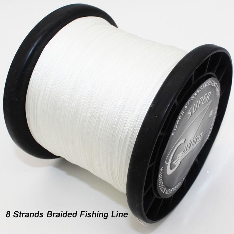 2500M Brand LineThink GOAL Japan Multifilament 100% PE Braided Fishing Line 6LB to 120LB Free Shipping
