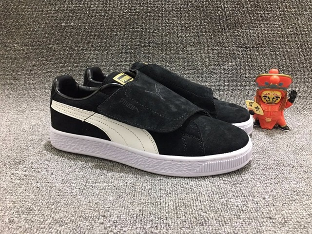 b20775273f2a Original PUMA Suede Strap Rihanna Platform Satin EP Men s Women s Magic  tape Sneakers size36-44