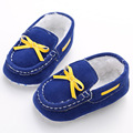 Sapatos de bebê Não-deslizamento Sapatos Crianças Sapato Sapatos Pés Quentes Além de Veludo Macio Do Bebê Do Bebê Do Sexo Feminino 0-1 anos WMC904