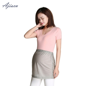 Recommend electromagnetic radiation protective pregnant women nursing wear emf shielding 100% silver fiber apron
