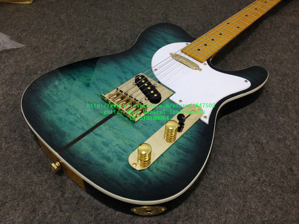 New Arrival Custom Shop Electric Guitar Merle Haggard Signature Tuff Dog Excellent Quality, SUPER RARE,Green color