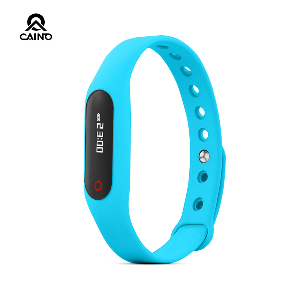 2016 Waterproof Bluetooth Smart Bracelet E06 Wristband Health Fitness Tracker Sport Smart Watch For Iphone IOS Android Phone