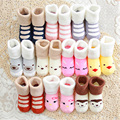 2016 Promotion Special Offer Character Casual Cotton Baby Newborn 0-24month 100%cotton Lovely Cute Shoes Cartoon Unisex Socks