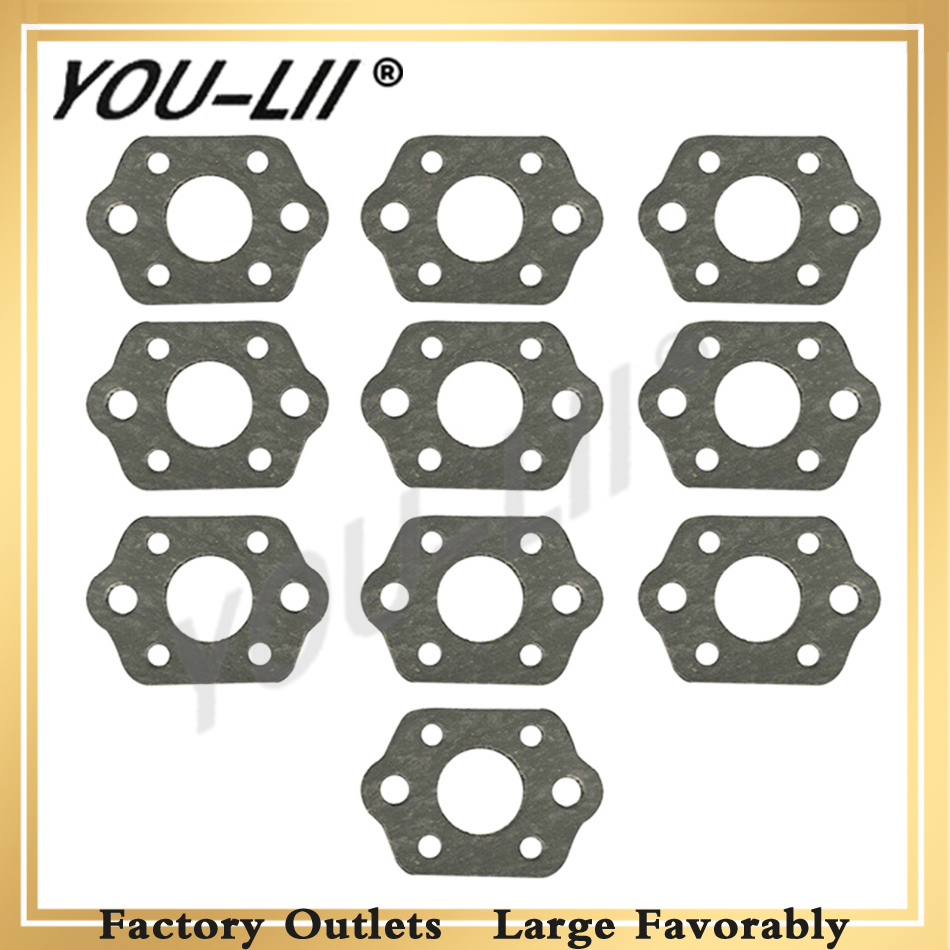 YOULII 10Pcs Carburetor Muffler Gasket Kit For STIHL MS 180 170 MS180 MS170 018 017 Chainsaw Replacement Parts-in Carburetor from Automobiles & Motorcycles