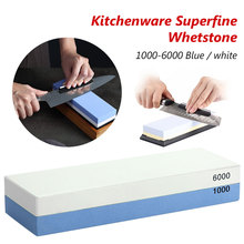 Kitchen Supplies Professional Whetstone Knife Sharpener Dual Sided 1000/6000 Grit Combination Sharpening Water Stone