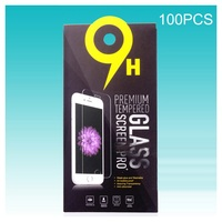 Customizable 100Pcs Paper Packaging Retail Box For Tempered Glass Screen Protector Size Approx 180 X 90mm