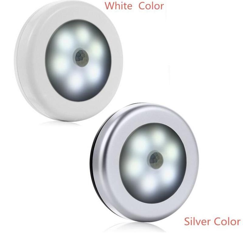 Wireless Sensor LED 6LED Night LightFor Baby Room Bedroom Corridor Lamp