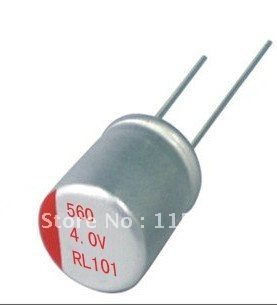 2.5V Series of  Super Low ESR Polymer Capacitors