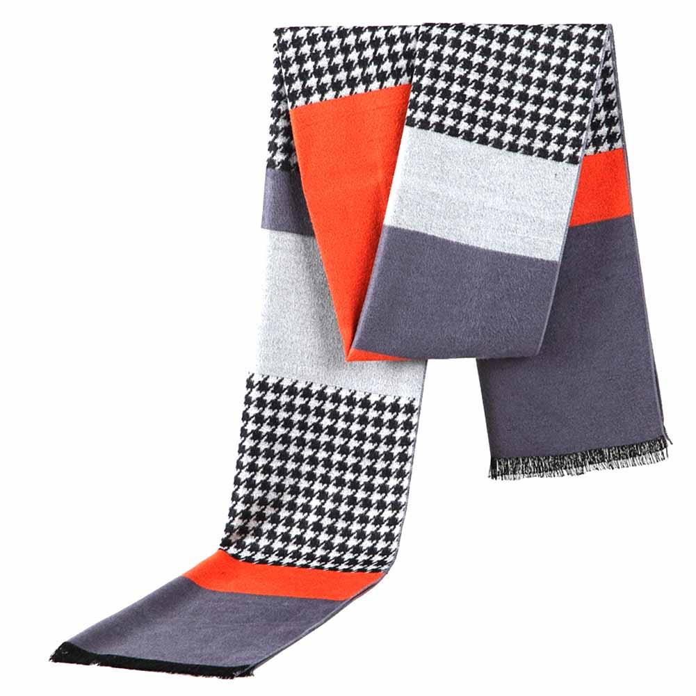 Ausdrucksvoll Neueste Mode-design Casual Winte Männer Business Plaid Schal Luxus Marke Hohe Qualität Warm Modal Schals Männer Vertrieb Von QualitäTssicherung