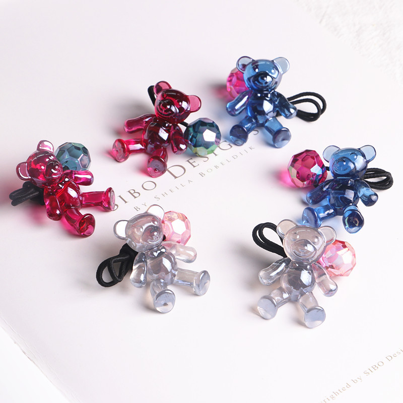 High Quality Hair Accessories For Girls Hair Tie Head Band Acrylic Dimensional Dolls Car ...