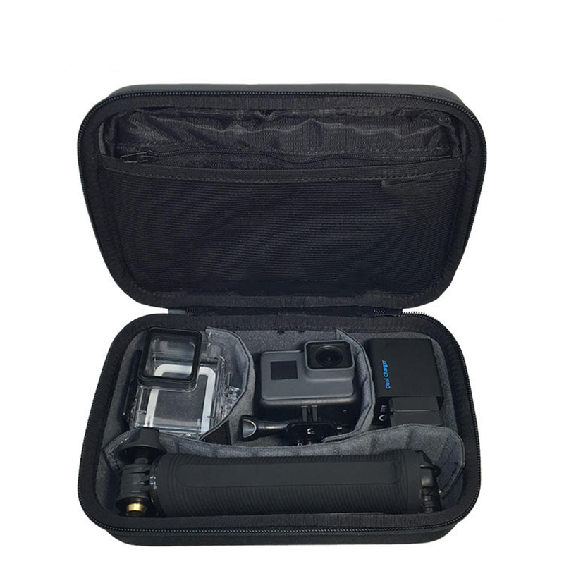 Sac De Stockage De voyage Étanche Boîte Grande Taille Cas Pour GoPro Hero 7 6 5 4 3 + Session Xiaomi yi 4 k Sjcam Caméra Eken Sac À Main