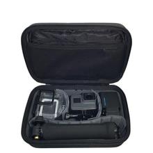 여행용 수납 가방 방수 박스 gopro hero 7 용 대형 케이스 블랙 6 5 4 3 + 세션 xiaomi yi 4 k sjcam eken 카메라 핸드백