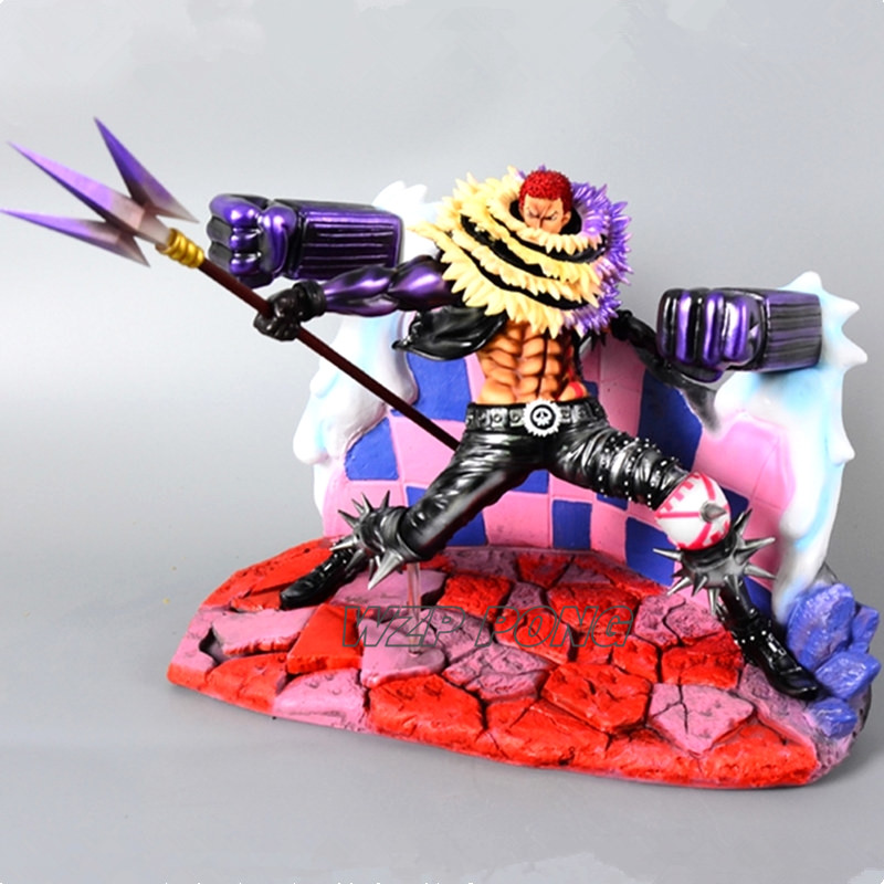 New One Piece Dessert trois étoiles Charlotte Katakuri bataille ver Figure Toy PVC Katakuri Action Figure Collection statue Jouets Cadeau