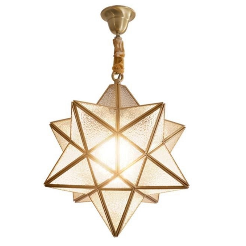 LukLoy American Country Gold Star LED Pendant Light Bedroom Dining Room Hanging Lamp Kitchen Light Fixture Loft Decor Hanglamp LukLoy American Country Gold Star LED Pendant Light Bedroom Dining Room Hanging Lamp Kitchen Light Fixture Loft Decor Hanglamp
