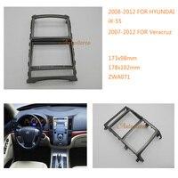 Hyundai iX 55 2008 2012  veracruz 2007 2012 용 자동차 라디오 근막 stereo fascia dash cd 트림 설치 키트 11 071 파시아스 자동차 및 오토바이 -