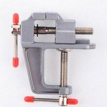 1 шт. мини алюминиевая скамейка стол поворотный замок зажим тиски Ремесло Ювелирные изделия хобби тиски