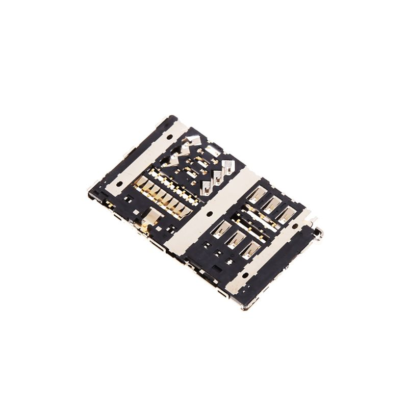 Lot Sim Card Reader Slot Tray Module Holder Connector For LG G6 H870 H870DS LS993 VS988 H872 Socket 2019 New