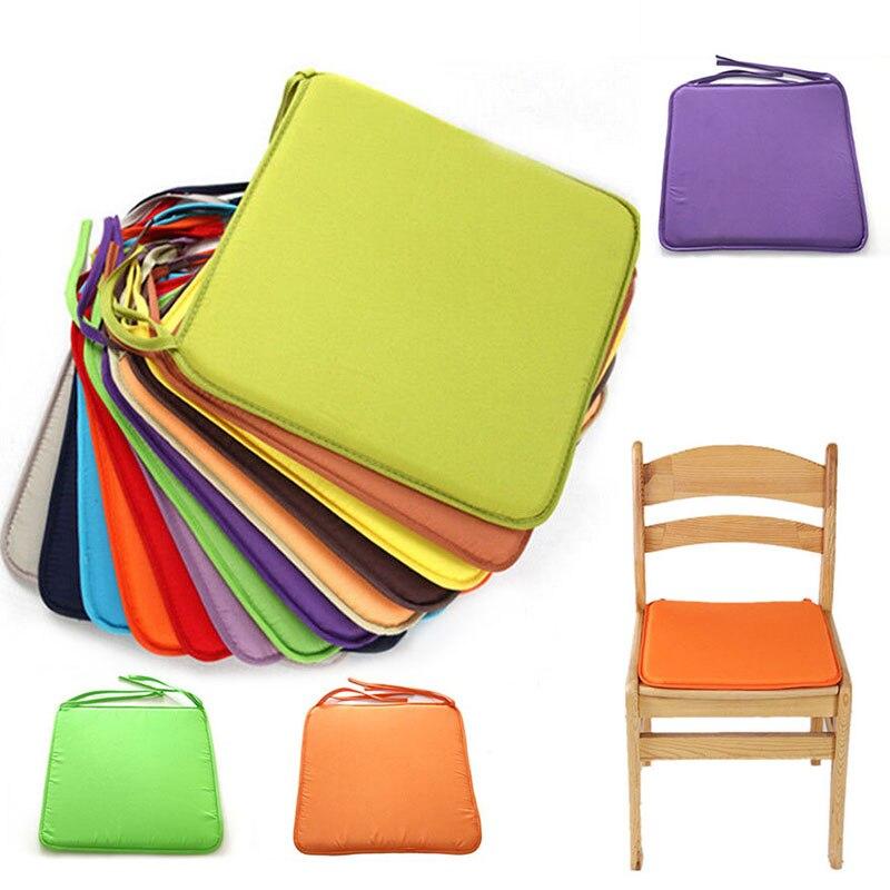 2018 New Fashion Candy Color Super Soft Chair Cushion Non