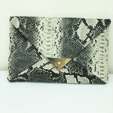 Frauen Messenger Bags Neue Ankunft Reißverschluss Animal Prints PU Umhängetaschen Serpentin Geprägte Messenger-taschen für Party