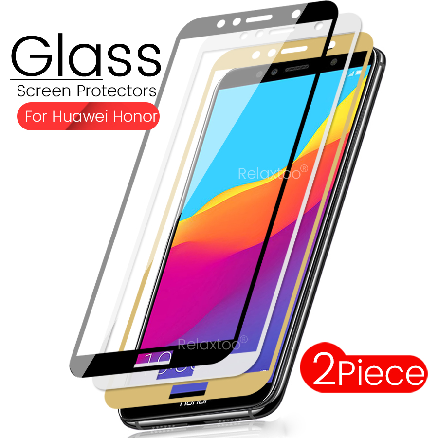 2PCS Honor 7a Glass For Huawei Honor 7a Pro Protective Glass On Honor 7apro A7 A7pro Safety Glass Honor7a Honor7apro Honar Honer