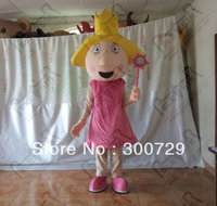 hot sale magic girl mascot costume girl onesies for adults holly mascot costumes