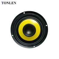 TONLEN 2PCS 4 inch Subwoofer Speaker 4ohm 8 ohm 20w Soundbar HIFI Bass Woofer Portable Music Speakers Full Range Speaker