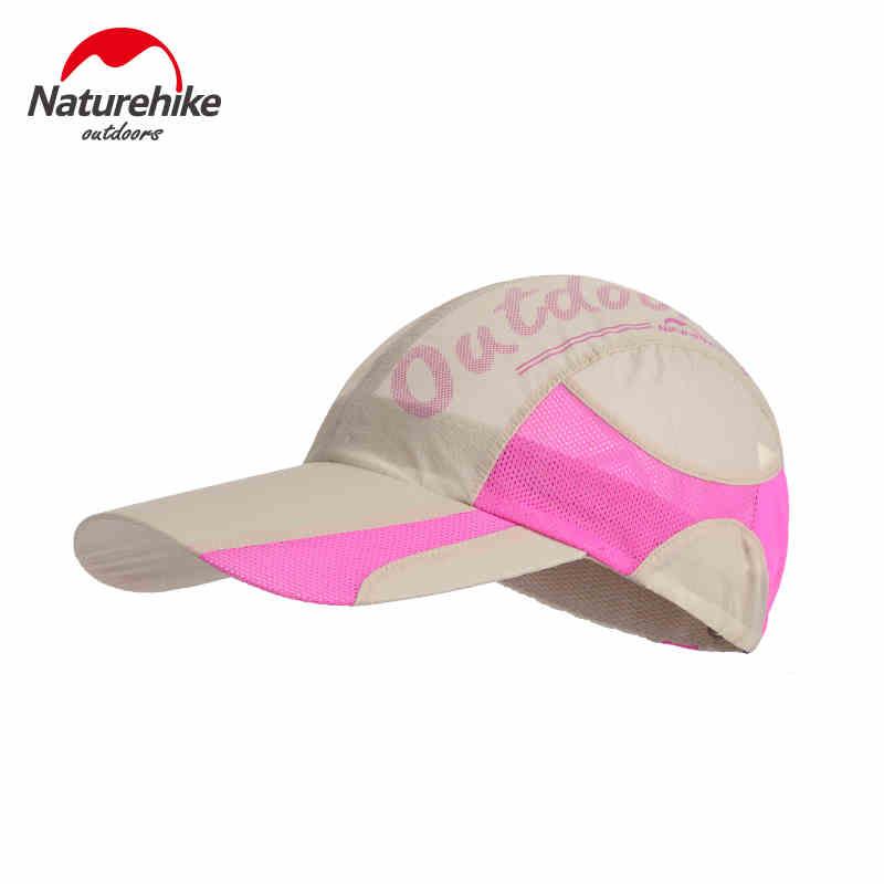 Prix pour Naturehike 2016 d'été chapeau randonnée rapide sec uv protection respirant patchwork femmes chapeau chapeau hommes casquettes 4 couleurs