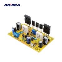 AIYIMA 100W Power Amplifier Audio Board Mono Amp Diy MOS Tube IRFP240 IRFP9240 FET Ultimate Fidelity Amplifiers